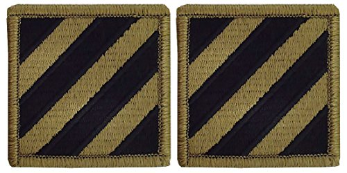 3rd Infantry Division OCP Patch-2 PACK (Division Patch Infantry 3rd)
