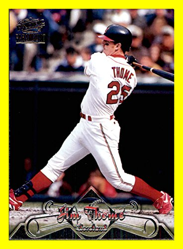 1998 Paramount Baseball Card Pacific #41 Jim Thome CLEVELAND INDIANS MLB Network Analyst
