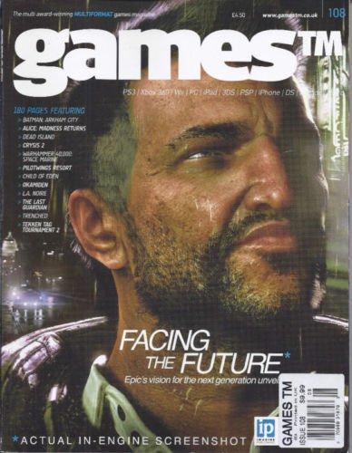 Download Games magazine Issue 108 2011 pdf