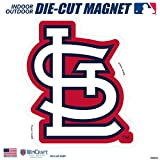 "St Louis Cardinals SD 6"" Logo Magnet Die Cut Vinyl Auto Home Heavy Duty Baseball"
