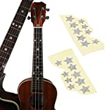 20 pcs Star shape Fretboard Markers Inlay Sticker Decals For Acoustic Guitar And Electic Guitar,MusicOne