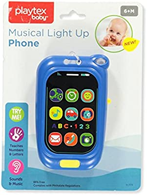 One Size Royal Blue Playtex Baby Musical Light Up Phone Royal Blue One Size Buy Online At Best Price In Uae Amazon Ae