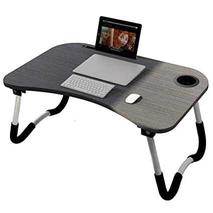 info for 63f3e 75a94 Amazon.com: FLHAINVER Laptop Desk Bed Foldable Lazy Small ...
