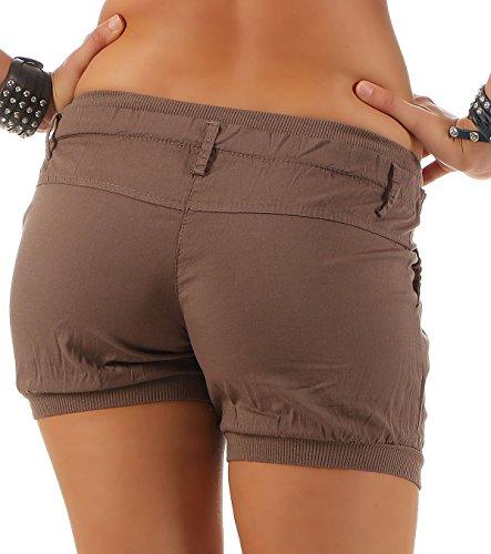 Colore dei Donna Universal Cintura elastic in Pantaloncini Fango Pantaloni malito 6089 in xpwtcC