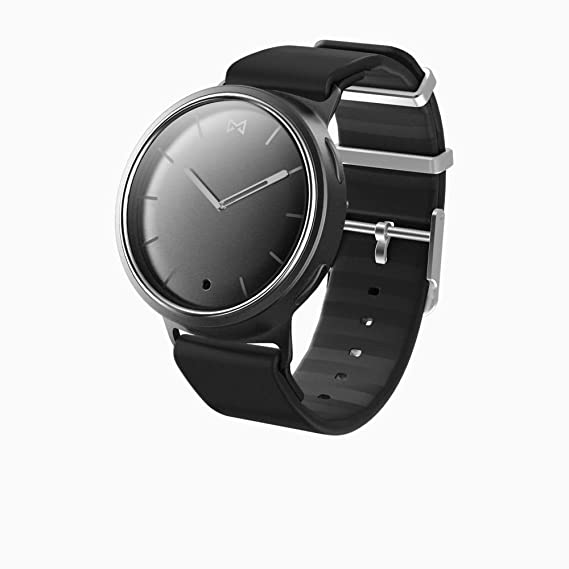 9d9efa43a43e Amazon.com  Misfit Phase Hybrid Wearables Smartwatch - Black  Cell ...