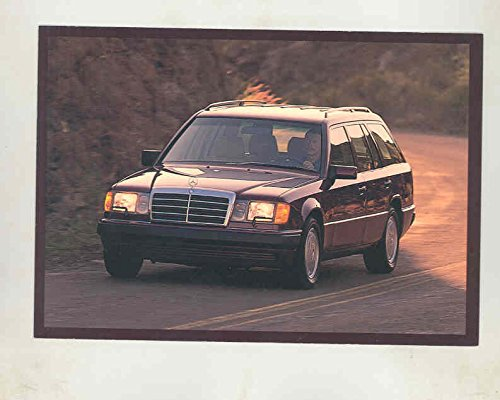 - 1992 Mercedes Benz 300TE Station Wagon Large Factory Postcard
