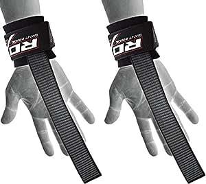 RDX Gym Straps Weight Lifting Wrist Wraps Straps Hand Bar Bodybuilding Training Workout