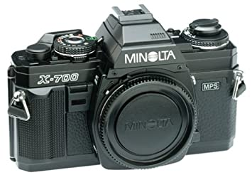 Amazon.com : Minolta X-700 35mm SLR Camera (Body Only ...