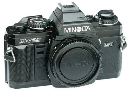 Minolta X-700 35mm SLR Camera (Body Only) (Discontinued by Manufacturer) (Best Lens For Minolta X 700)