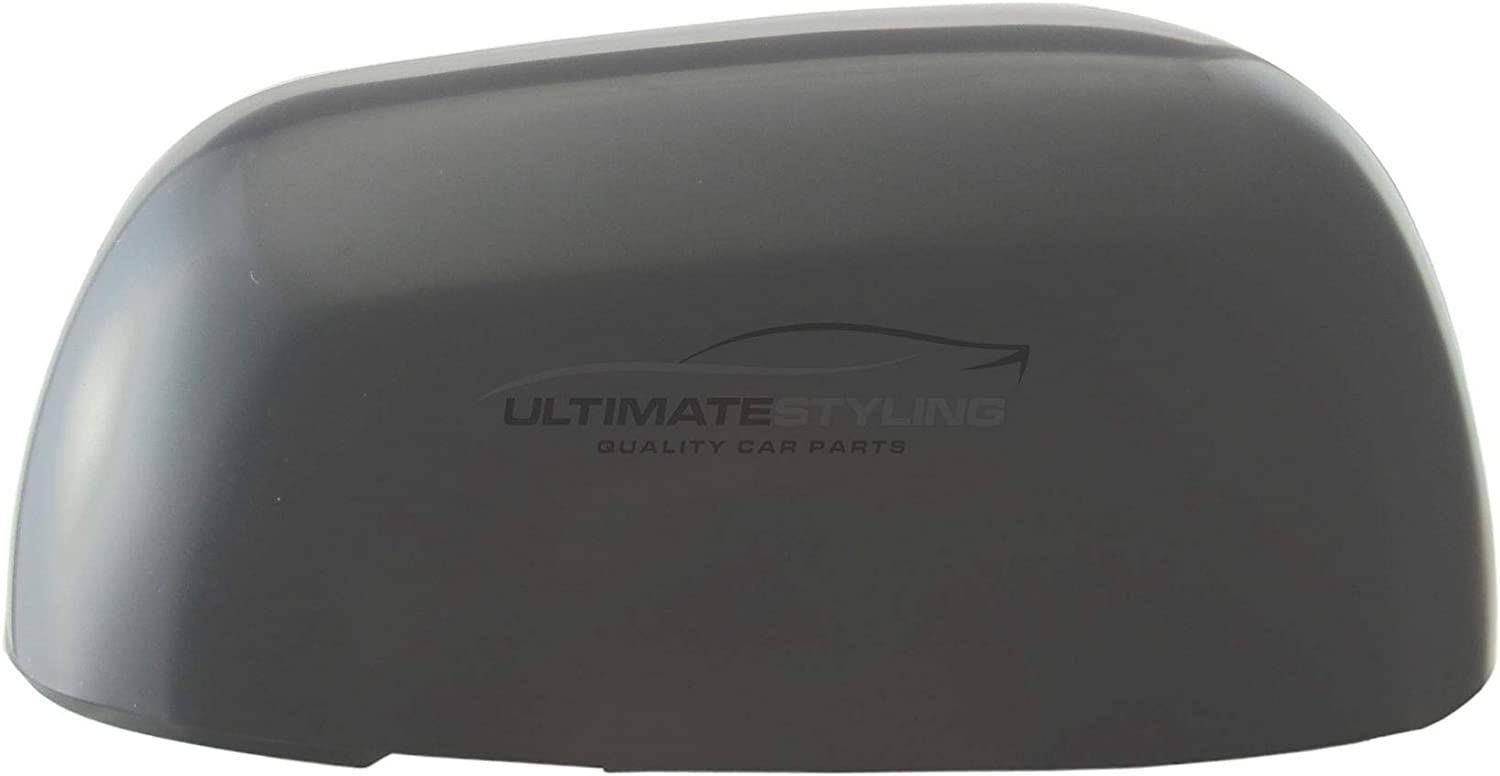 Right Hand Side RH Ultimate Styling Aftermarket Replacement Wing Mirror Cover Cap Colour Of Cover Paintable Black For Drivers Side