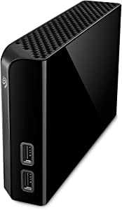 Seagate Backup Plus Hub 14TB External Hard Drive Desktop HDD – USB 3.0, 2 USB Ports, for Computer Desktop Workstation PC Laptop Mac, 4 Months Adobe Creative Cloud Photography Plan (STEL14000400)