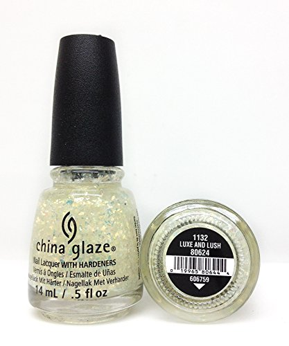China Glaze Nail Lacquer, Luxe and Lush, 0.5 Fluid - Chino Shoppes