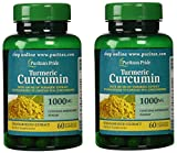 Puritan's Pride 2 Pack of Turmeric Curcumin 1000 mg Puritan's Pride Turmeric Curcumin 1000 mg-60 Capsules For Sale