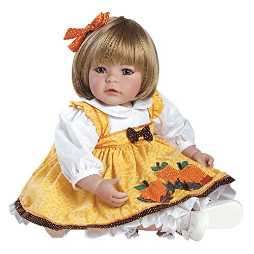 """51EJL6RQq6L - Adora Toddler Pin-A-Four Seasons 20"""" Girl Weighted Doll Gift Set for Children 6+ Huggable Vinyl Cuddly Snuggle Soft Body Toy"""