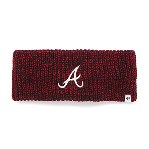 MLB Atlanta Braves Women's '47 Prima Twisted Headband, Red -