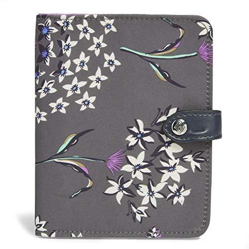 51EJL9f5g2L - Vera Bradley Midtown RFID Passport Wallet, Dandelion Wishes