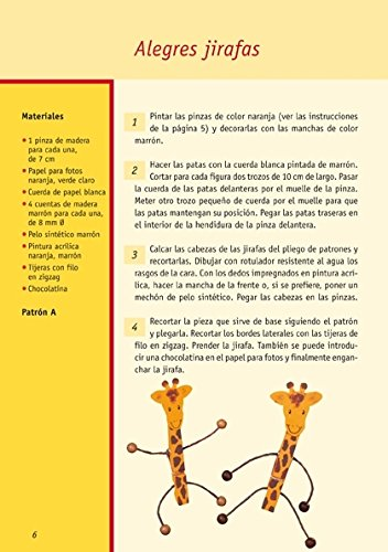 FIGURAS CON PINZAS DE MADERA PARA NIÑOS (Spanish Edition): BOCK HENNING: 9788498740554: Amazon.com: Books