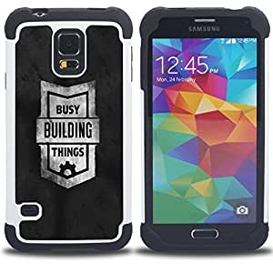 - Funny - - Fulland Deluxe Hybrid TUFF Rugged Shockproof Rubber + Hard Case Cover FOR Samsung Galaxy S5 I9600 G9009 G9008V Queen Pattern
