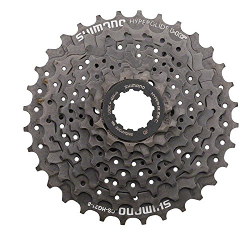 SHIMANO CS-HG31 Hyperglide Cassette (11-32T 8 Speed) by SHIMANO