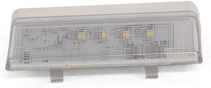 Whirlpool W10515057 Refrigerator LED Light and Cover Assembly Genuine Original Equipment Manufacturer (OEM) Part