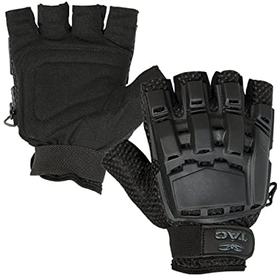 Valken V-TAC Half Finger Plastic Back Airsoft Gloves