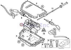 Amazon Com Bmw Genuine Parking Brake Actuator With