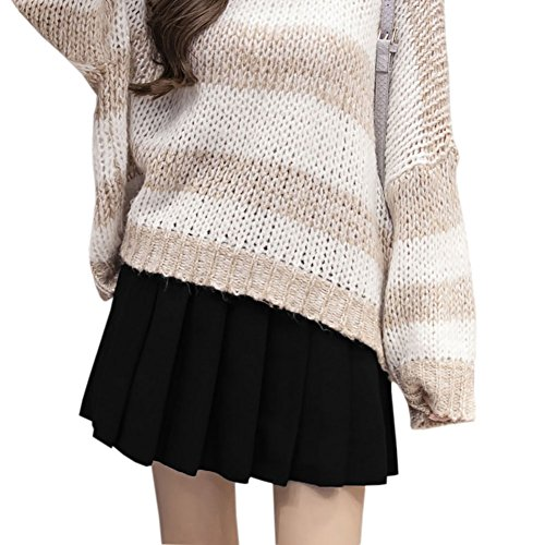 Blues Clues Dress Up Day (Preppy Style Winter Autumn Woolen Skirts Women High Waist Pleated mini Skirt hot short Skirts streetwear)