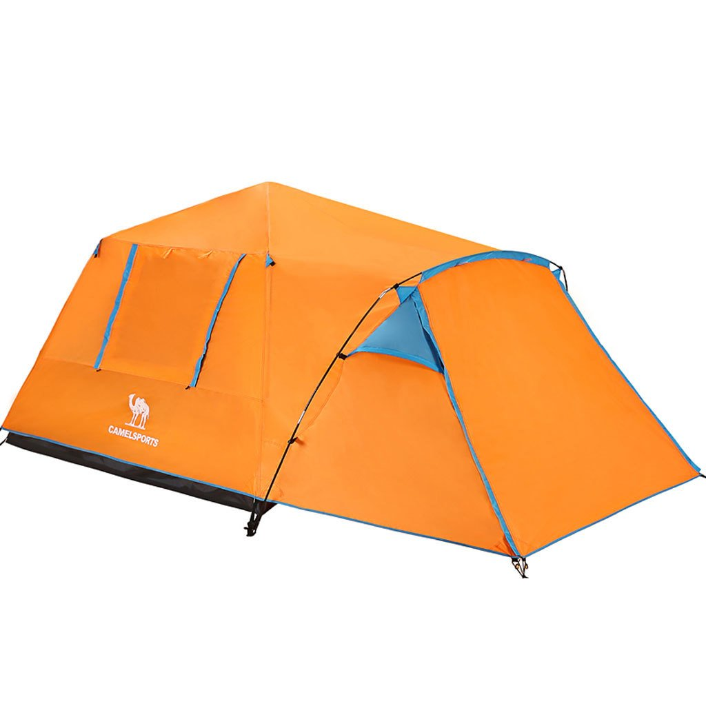 Neue automatische Outdoor-Camping-Zelt 3-4 Personen Zelt Doppel regen Jahreszeiten