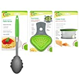 Jokari Healthy Steps Portion Control Diet / Weight Loss Pasta & Cheese 3pc Set