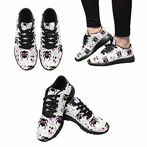 Interesse Per Le Donne Jogging Running Sneaker Leggero Go Easy Walking Comfort Sport Scarpe Da Corsa Modello Allegro Con Simpatici Ragni Multi 1