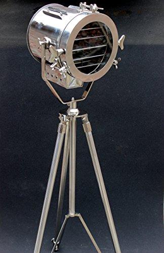 Nautical Spot Light Steel Searchlight Studio Floor Lamp