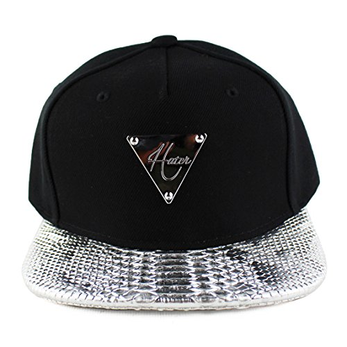 9b4766c03aa9b Hater Silver Snakeskin Strapback Hat - Buy Online in Oman ...