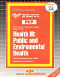 Health III : Public and Environmental Health, Rudman, Jack, 0837355354