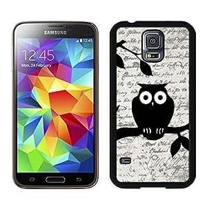 Popular S5 Case Best Samsung Galaxy S5 Case Black Cover Owl on Vintage Pape by icecream design