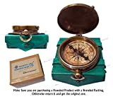 Best Brass Compasses - ''Robert Frost Poem'' Best Christmas Gift Engraved Brass Review