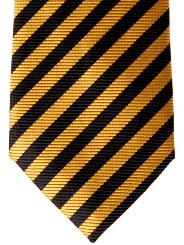 tied Pre Colors Various Boy's Stripe Yellow Black Woven Retreez and Tie Striped qHaxpPEtw