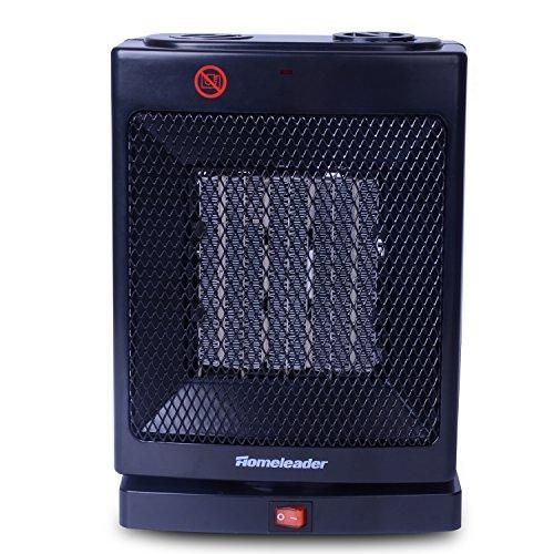 Homeleader PTC Heater, Ceramic Heater with Handle, Oscillation - Indoor Outdoor Space Heater