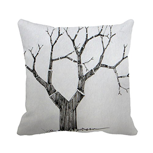 dkisee-18-x-18-one-tree-decorative-throw-pillow-case-cushion-cover