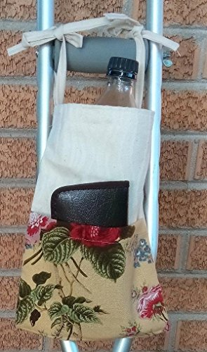 Flower # 1 Crutch Bag Pouch Storage from Craft and Sewing Box