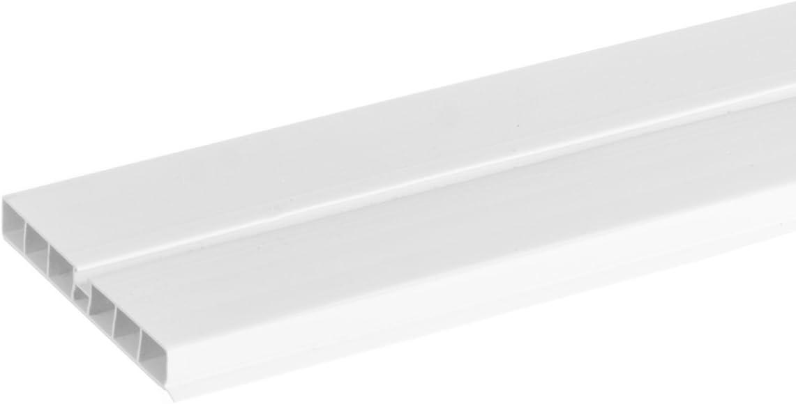 HBK10 HOLZBRINK 150cm Sockelblende Sockelleiste f/ür Einbauk/üche 100mm H/öhe ALUMINIUM Geb/ürstet