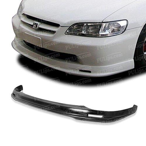 PULIps HDAC984MUFAD - M-Spec Style Front Bumper Lip For Honda Accord Sedan 1998-2002