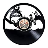 Animated Story Vinyl Record Wall Clock - Get unique Nursery room wall decor - Gift ideas for kids, children, teens – Animated Film Unique Art