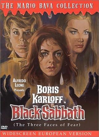 BLACK SABBATH Movie Poster 1963  Horror Classic