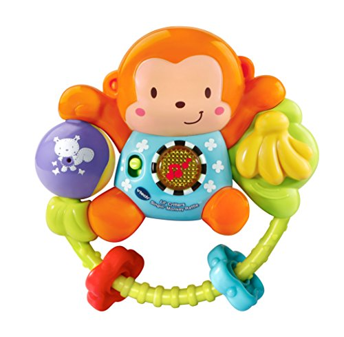 VTech Lil' Critters Singin' Monkey Rattle (English Version) ()