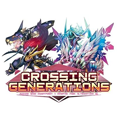 Future Card Buddyfight Crossing Generations Booster Box: Toys & Games
