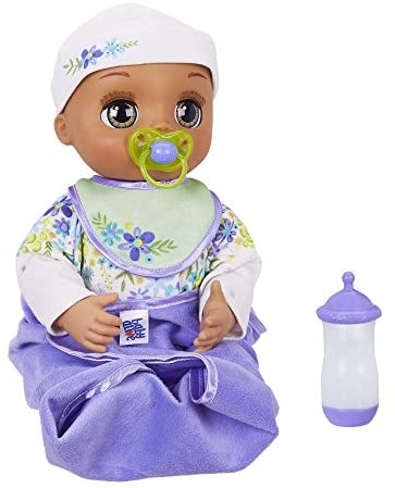 Baby Alive Real As Can Be Baby: Realistic Brunette Baby Doll, 80+ Lifelike Expressions, Movements & Real Baby Sounds, With Doll Accessories, Toy for Girls and Boys 3 and Up – The Super Cheap
