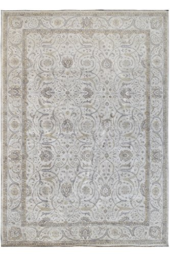 Kalaty 4121 OS One-of-a-Kind Hand-Knotted Area Rug,, used for sale  Delivered anywhere in USA
