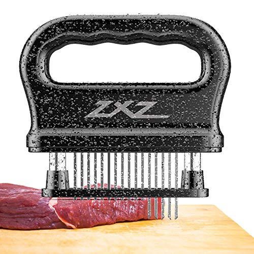 Meat Tenderizer, 48 Stainless Steel Sharp Needle Blade, Heavy Duty Cooking Tool for Tenderizing Beef, Turkey, Chicken, Steak, Veal, Pork, Fish, Christmas Cooking Set reviews