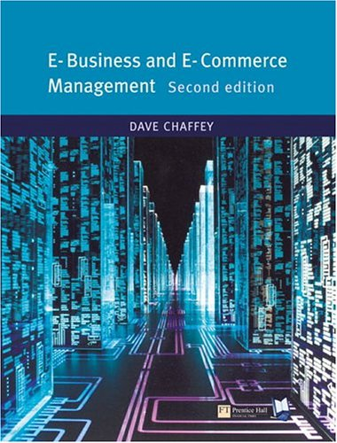 E-Business and E-Commerce (2nd Edition)