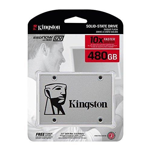 Retail Drive Box Hard 20 (Kingston Digital 480GB SSDNow UV400 SATA 3 2.5